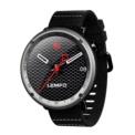 LEMFO LF22 - Smartwatch Desportivo - Cinzento - Bluetooth 4.0 - Controlo de Reprodução Musical - GPS - 7 Modos de Treino - Resistência IP67 - Estética Empresarial - Receber Notificações e Mensagens - Atender Chamadas - Frequência Cardíaca
