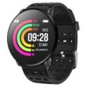 LEMFO LT03 Pulseira de Silicone Preta - Smartwatch