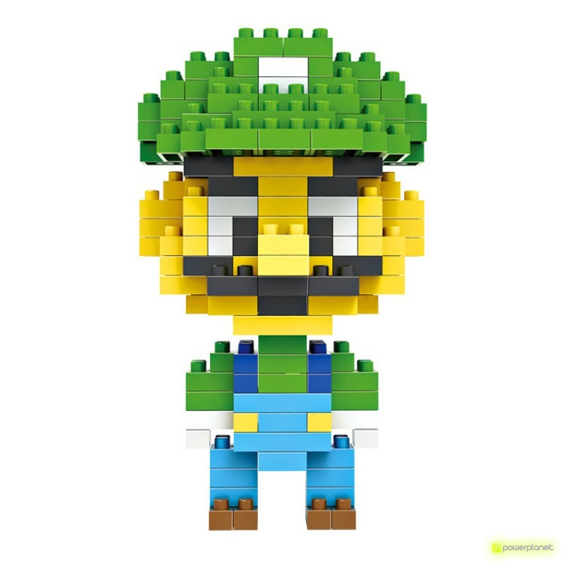 LOZ Blocks Luigi