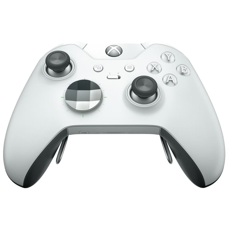 Comando sem fio Microsoft Xbox One Elite Branco
