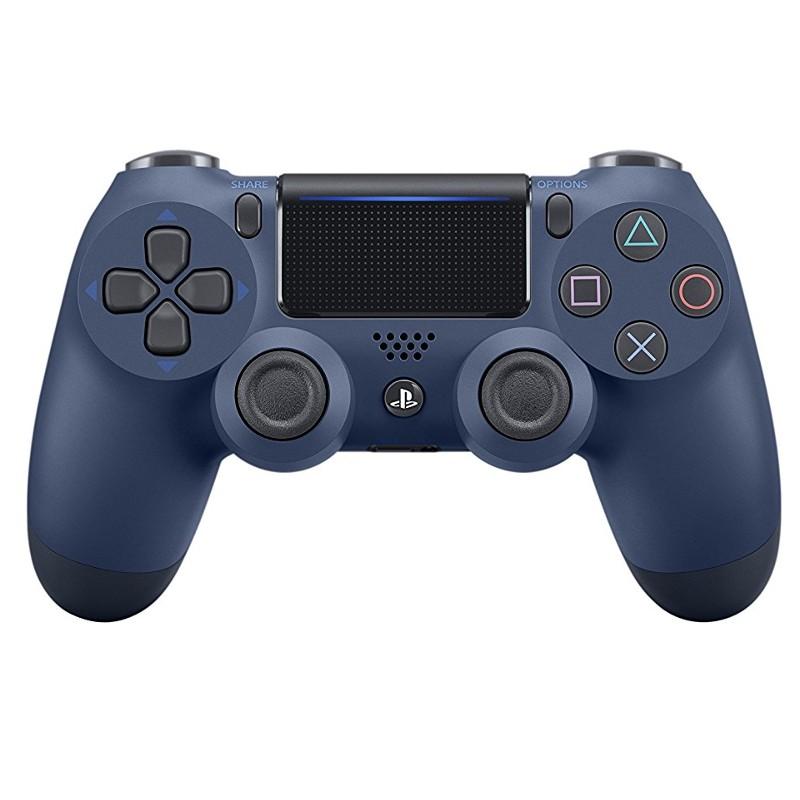 Comprar Comando Sony PS4 Dualshock Azul Midnight V2 - Comando oficial Sony PS4, painel táctil, barra de iluminação, entrada de áudio de 3,5 mm