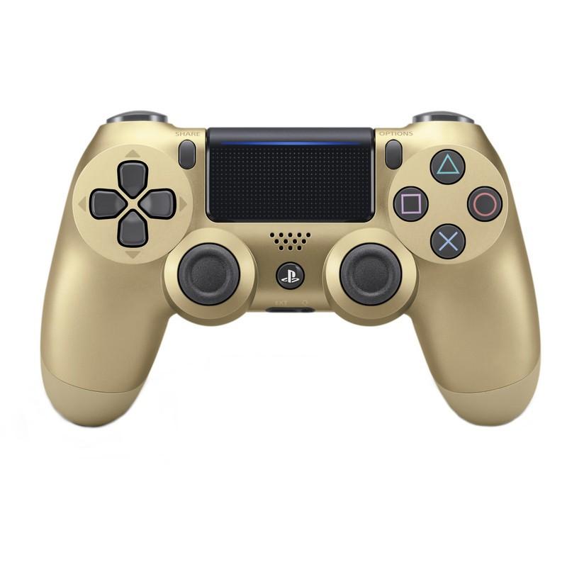Comando Sony PS4 Dualshock Dourado V2