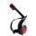 Snorkel Mask L / M with Sports Camera Stand - Black and red color - Dimensions L / M - Item3