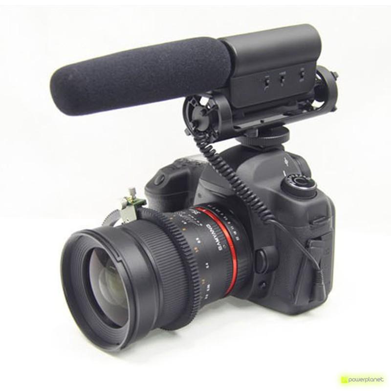 Microfone da Câmera