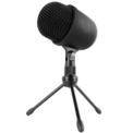 Microfone profissional Krom Kimu Pro - O Kimu Pro é a nova aposta da Krom em sua linha de microfones profissionais. Pegando o sucesso de seu sucessor, este microfone está comprometido com um aumento na qualidade e clareza do som.