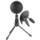 Microfone profissional Krom Kimu Pro - O Kimu Pro é a nova aposta da Krom em sua linha de microfones profissionais. Pegando o sucesso de seu sucessor, este microfone está comprometido com um aumento na qualidade e clareza do som. - Item6