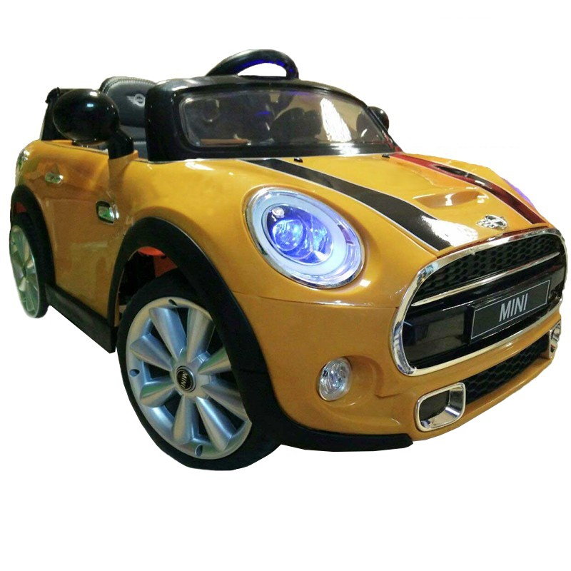 Mini Amarelo 12V 2.4G - Carro Infantil