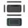 Mini Teclado Bluetooth H20 Touch - Receptor sem fio de 2,4 GHz - Touchpad Vertical e Horizontal - Teclado QWERTY - Navegação na TV Smar e TV Android - Máximo de 9 Horas Authomatic - Iluminação ajustável - Design ergonômico e transportável - Item8