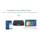 Mini Teclado Bluetooth HT18 - Zona frontal (panel de teclas táctiles) - Ítem5