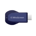 MiraScreen MX 2.4GHz Color Miracast / Airplay / DLNA - Blue Color - Duplicate Images, Videos, Games and Contents from your Mobile and Tablet - Streaming Playback - HDMI Dongle with WiFi - Netflix - Presentations - Play Content Multimedia PC