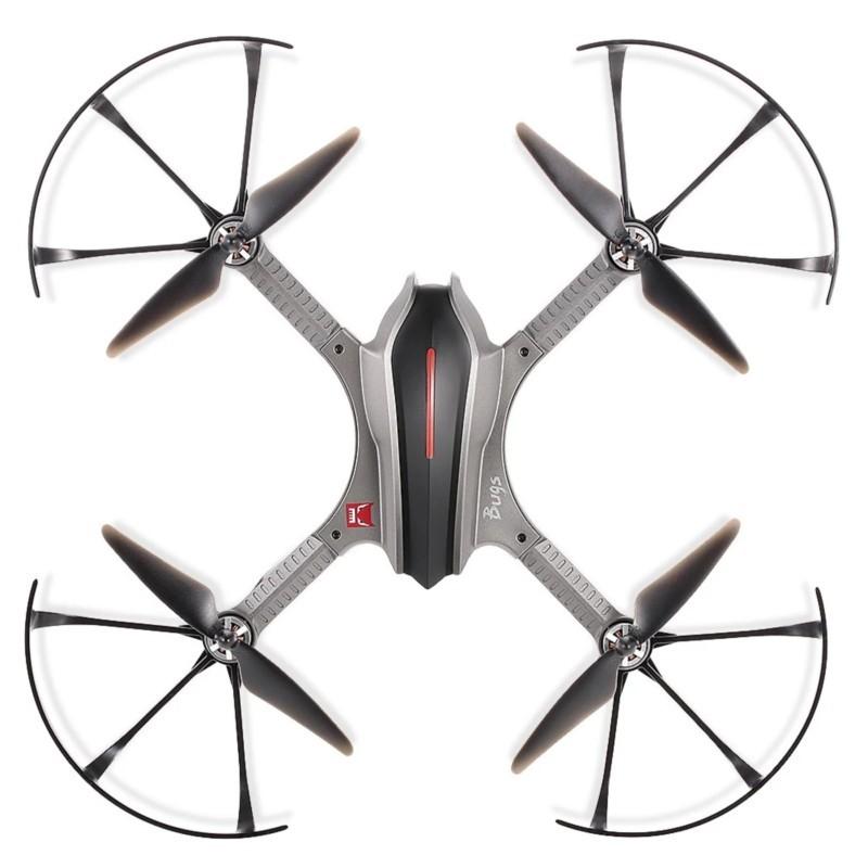 MJX Bugs 3H FPV 5.8GHz - Drone - color gris - GPS- Cámara C6000 1080P - WiFi FPV- Motor sin Escobillas - MT1806 de 1800 kv - Soporte para Cámaras Deportivas - GoPro - Ãtem6