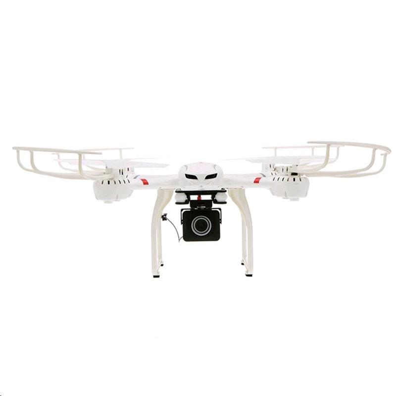 MJX X101S WiFi FPV - Dron - Color blanco - CámaraFPV C4018 - Transmisión 2.4GHz - Movimiento 360º - Autonomía 10 Minutos - Modo Headless - Retorno al Punto Inicial