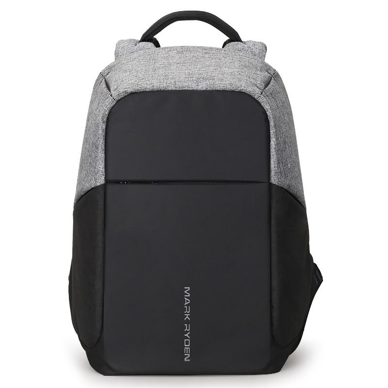 Mochila USB Mark Ryden Laptop Style Negro/Gris MR5815ZS