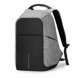 Mochila USB Mark Ryden Laptop Style Negro/Gris MR5815ZS - Ítem1