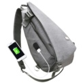 Mochila USB Mark Ryden Life Crossbody Gris MR5975