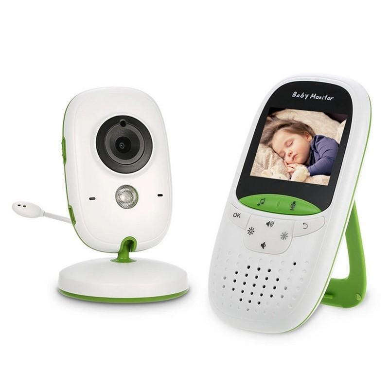 Vigilabebés Kingfit SP850 VB602 - Visión nocturna, música relajante para bebés, temperatura ambiental, comunicación bidireccional