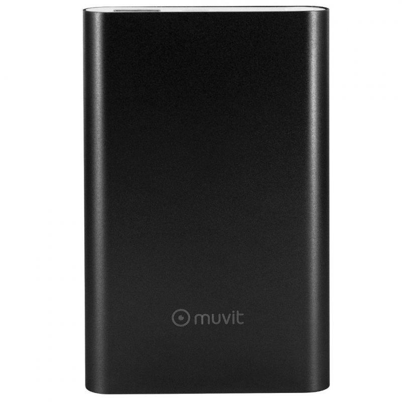 Muvit MUCHP0118 Power Bank 10000 mAh 2A Preto