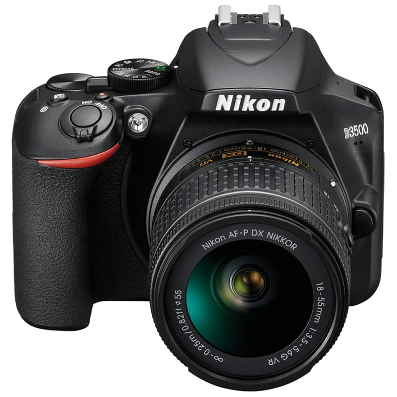"""Protector de Pantalla para Cámara DSLR 3/"""" Nikon D3500 AFP DX lente de 18-55mm Paquete de 3"""