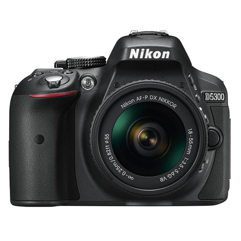 Nikon D5300 + AF-P DX 18-55 mm VR Negro