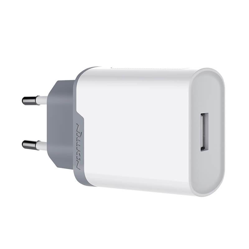 Nillkin Fast Charger Quick Charge 3.0 - Adaptador EU, USB Quick Charge 3.0, protección del dispositivo contra cortocircuitos y calentamientos, certificaciones internacionales de calidad, diferentes voltajes de salida