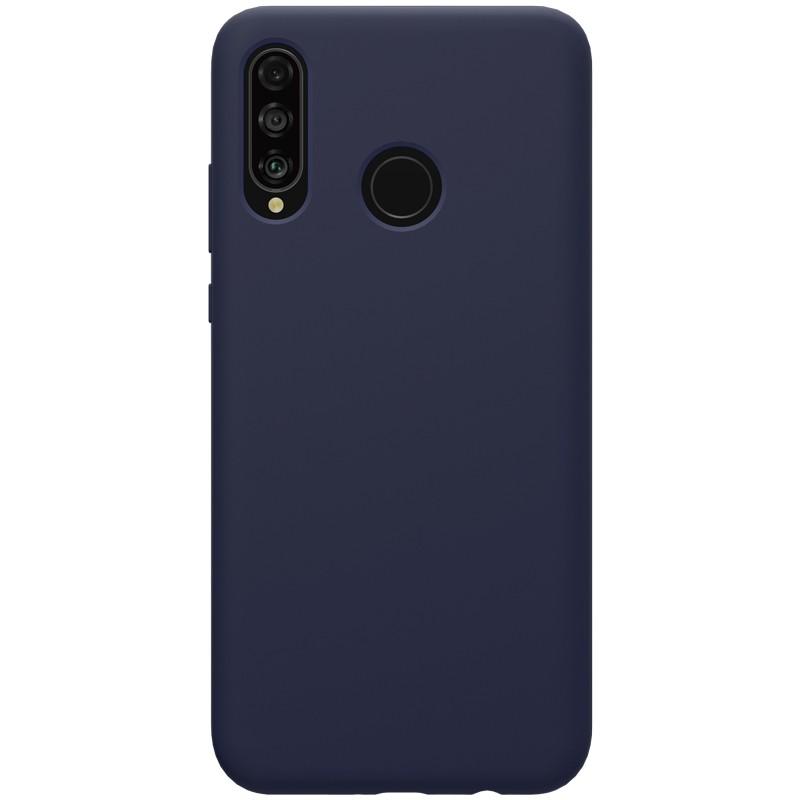 Funda de silicona líquida Flex Pure de Nillkin para Huawei P30 Lite