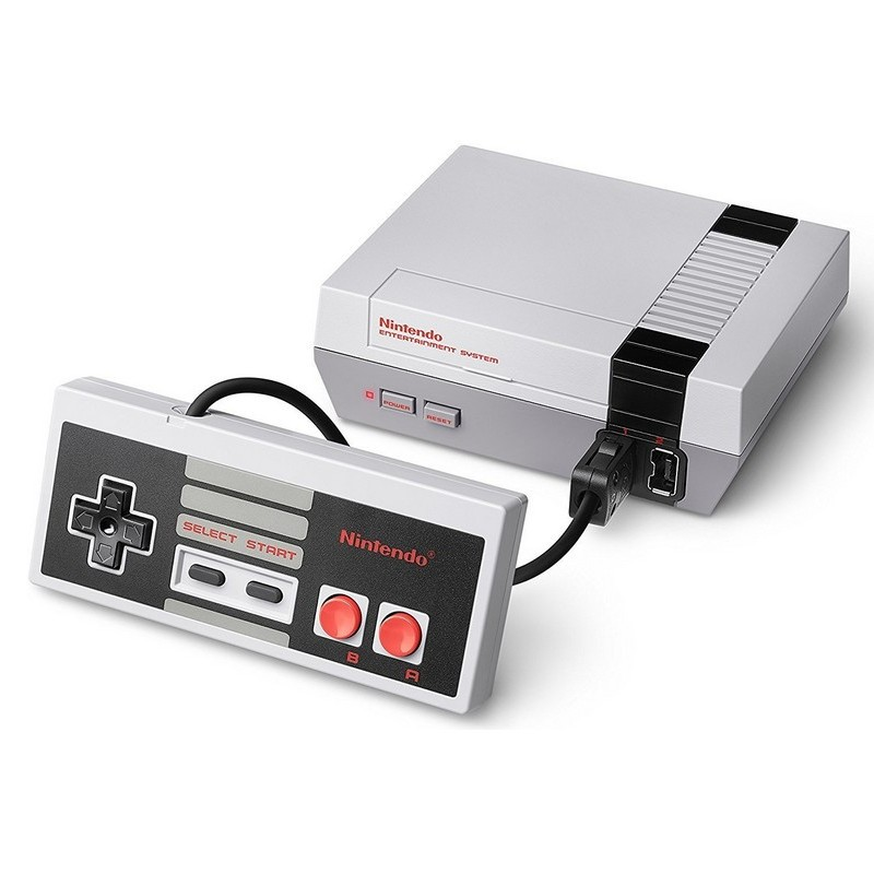 Nintendo Classic Mini NES + 30 Jogos - 30 Classic NES Games - Cabo USB - Classic Mini Controlador: NES - Cabo HDMI - Final Fantasy - Mario Bros - The Legend of Zelda