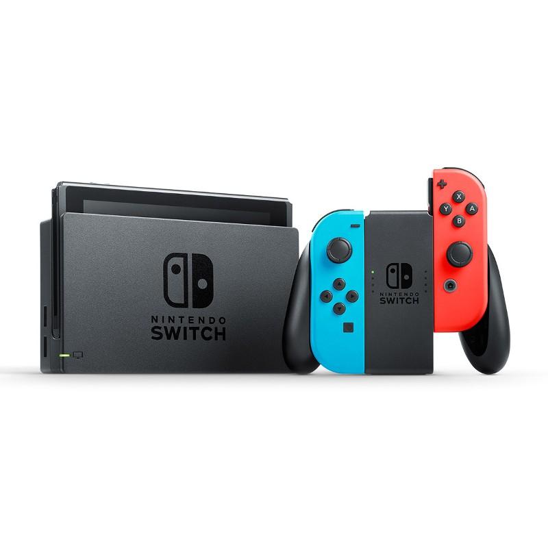 Nintendo Switch Azul Neón/Vermelho Neón