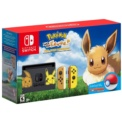 Nintendo Switch Edição Pokémon + Let´s Go Eevee + Pokeball Plus