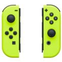 Nintendo Joy-Set Switch Left / Right Yellow - HD VIbration - Wireless Conversion - Yellow Color - Accelerometer - Gyroscope - NFC Reading Compatible with Amiibo Figures - Infrared Motion Camera