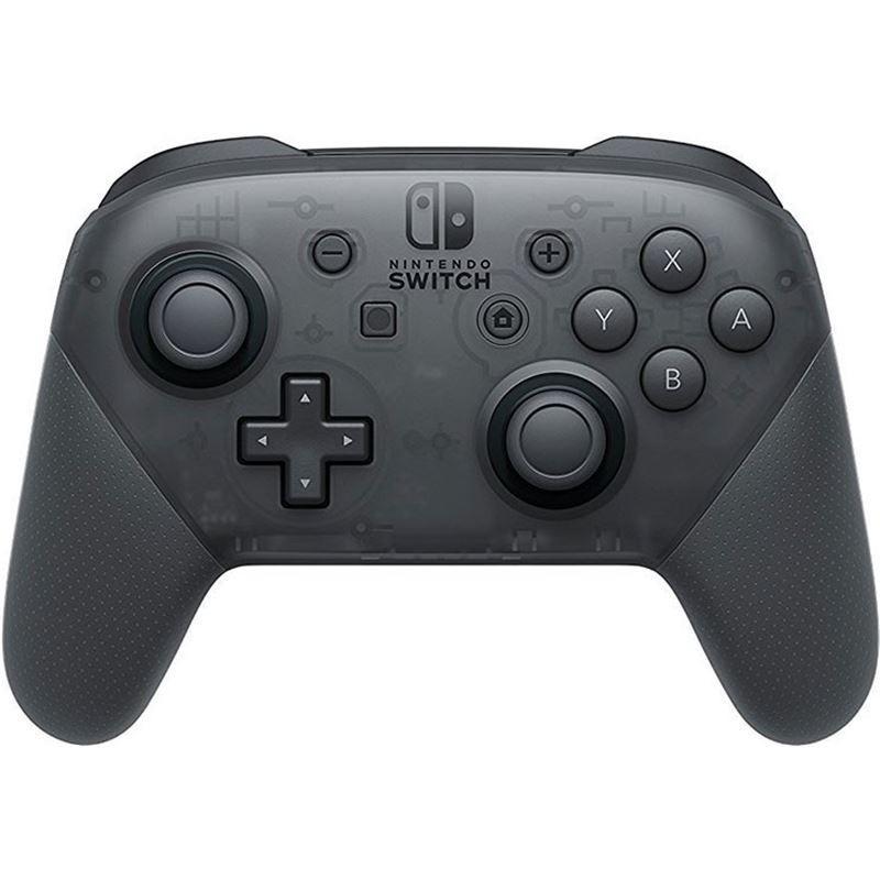 Nintendo Switch Pro Controller Preto - NFC - Bluetooth 3.0 - Nintendo Switch Pro - Vibração HD - Giroscópio - Acelerómetro - Compatível com Amiibo