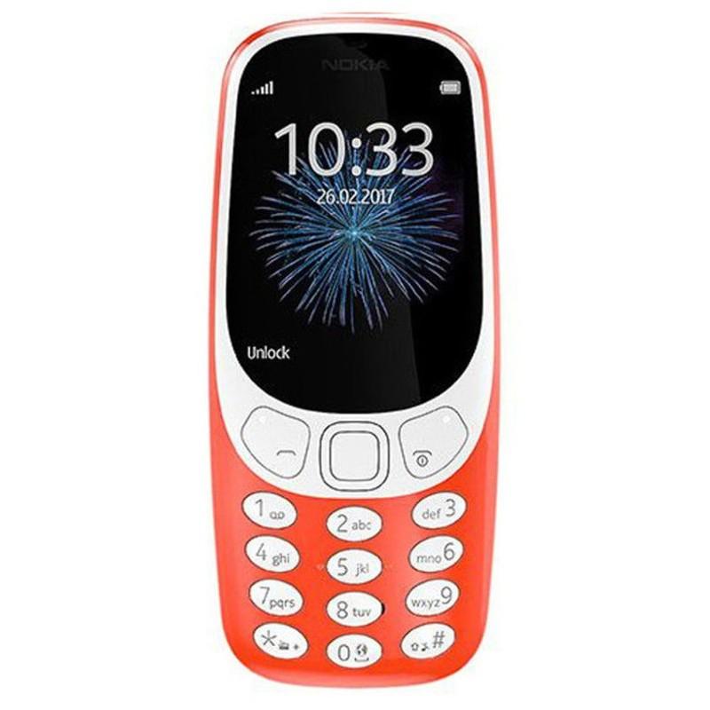 Nokia 3310 3G Dual Sim Rojo