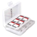 OIVO Slots Game Cards Nintendo Switch IV-SW029 - White Color - Compact Slot - Allows up to 24 Cartridges - Nintendo Switch