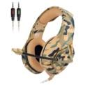 ONIKUMA K1B Amarillo Camuflaje - Auriculares Gaming
