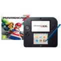 Pack Nintendo 2DS Preto/Azulado + Mario Kart 7