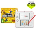 Pack Nintendo 2DS Blanca/Roja + New Super Mario Bros 2