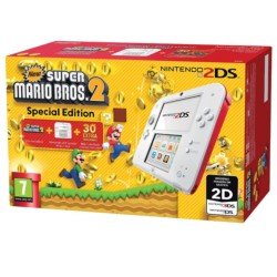 Pack Nintendo 2DS Blanca/Roja + New Super Mario Bros 2 - Ítem5