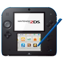 Pack Nintendo 2DS Negro/Azul + Mario Kart 7 - Ítem1