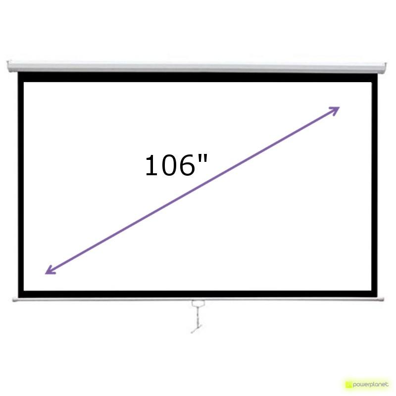 Pantalla para proyector 106