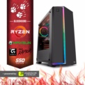 PC Gaming Ryzen 3 1200/8GB/120SSD/RX 570 8GB/APEX Bloodhound