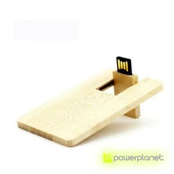 Memoria USB 8GB Wood Card - Item1