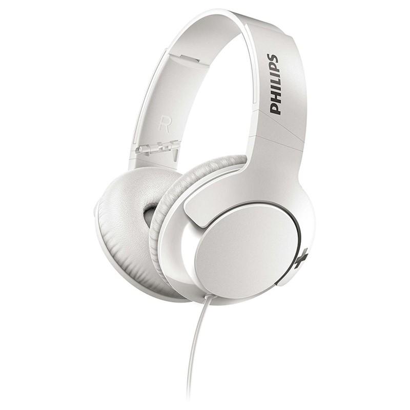 Philips BASS + SHL3175WT Branco - Auscultadores