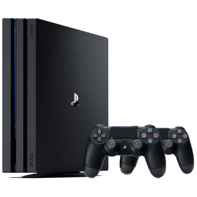 PlayStation 4 Pro 1TB (PS4) + 2 Remote Sony PS4 Dualshock Black V2