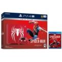 PlayStation 4 Pro 1TB (PS4) + Marvel´s Spiderman Edición Limitada - Diseño exclusivo de color rojo con el logo icónico de la araña (color blanco) sobre la parte superior de la consola + mando Dualshock 4 con diseño a juego