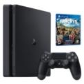 PlayStation 4 Slim 1 TB (PS4) + Far Cry 5 - Cor preta, Pack que inclui FarCry 5 + console + PS4 Slim + Controle + HDMI