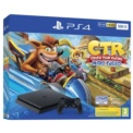 PlayStation 4 Slim 500GB (PS4) + Game Crash Team Racing Nitro-Fueled