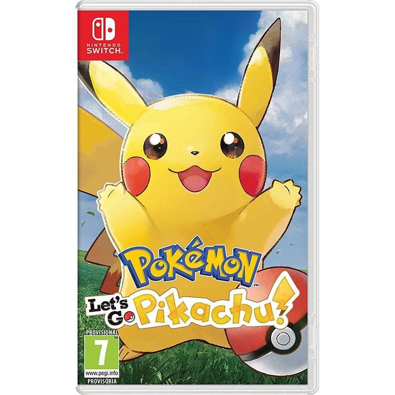 Pokémon Let's Go Pikachu! Nintendo Switch