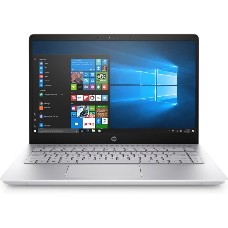Portátil HP Pavilion i5-7200U / 12GB / 1 TB / 128 GB SSD / 940MX / 14 - 1UK74EA - cor cinza-prateado
