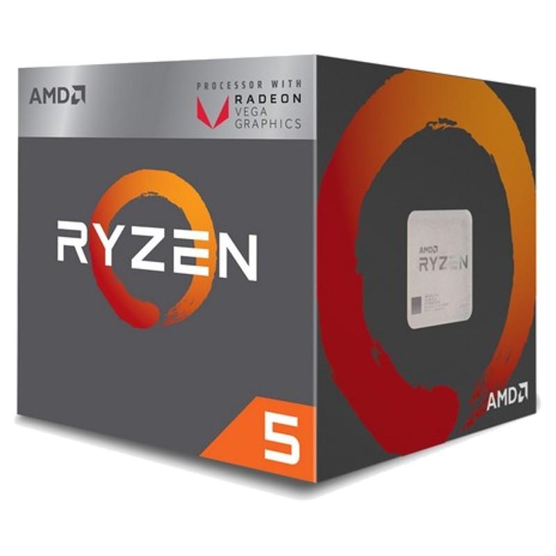 Procesador AMD Ryzen 5 2400G 3.6GHz