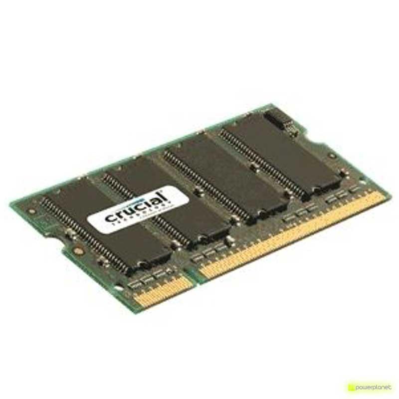 Memoria RAM DDR2 SODIMM 1GB Crucial 667MHz
