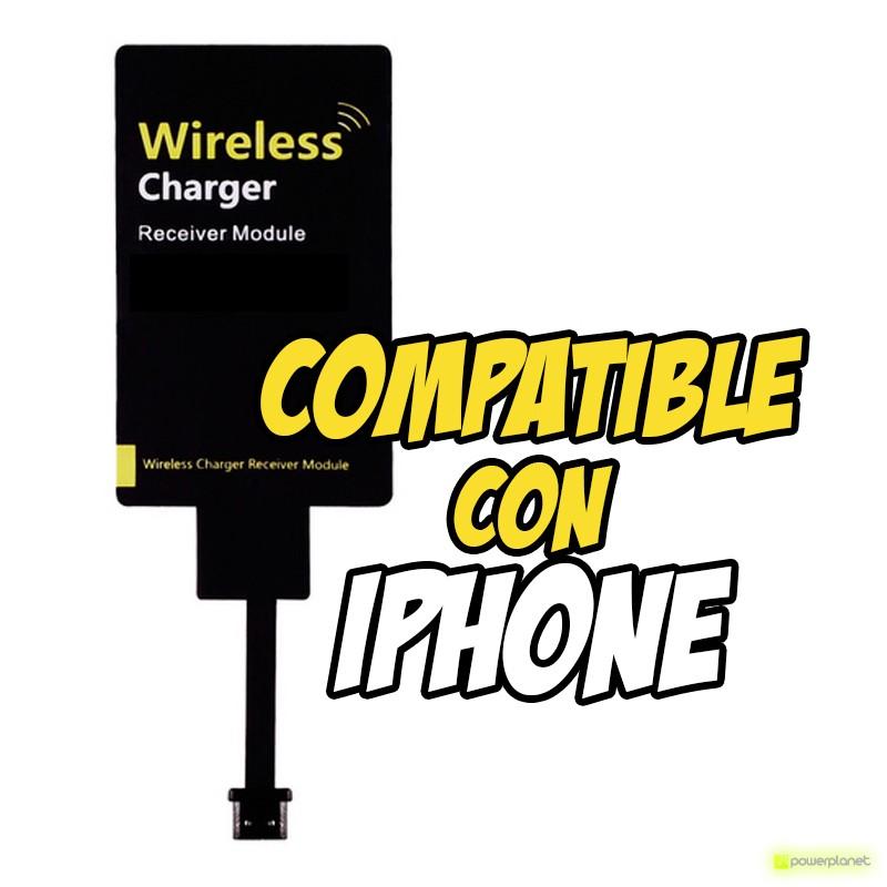 Adaptador Carga Inalámbrica para Iphone